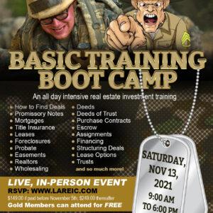 Boot Camp November 2021